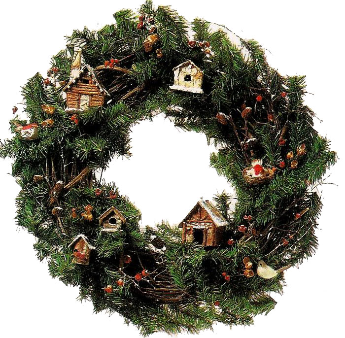 Artificial Evergreen Garland