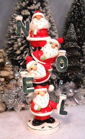 Busy Bee Vintage Santa Figurine