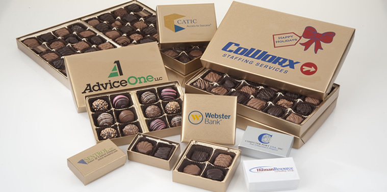 Custom Logo Boxed Chocolates
