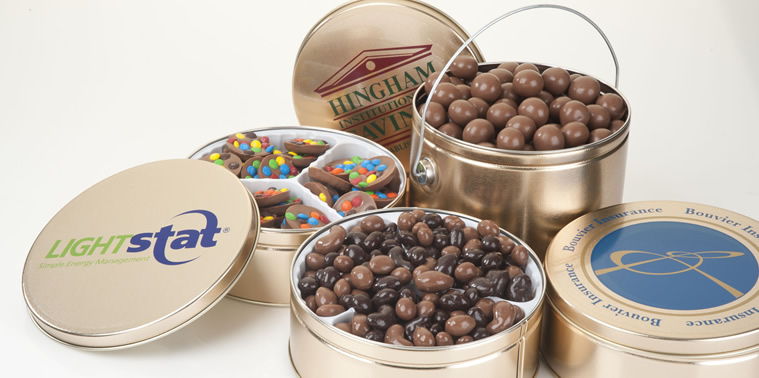 CUSTOM LOGO CHOCOLATE TINS