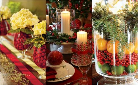 Floristic Christmas Centerpiece Ideas