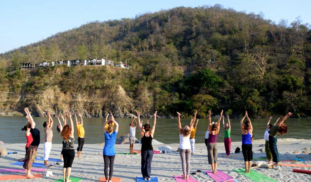 Team-Building: Yoga Retreat