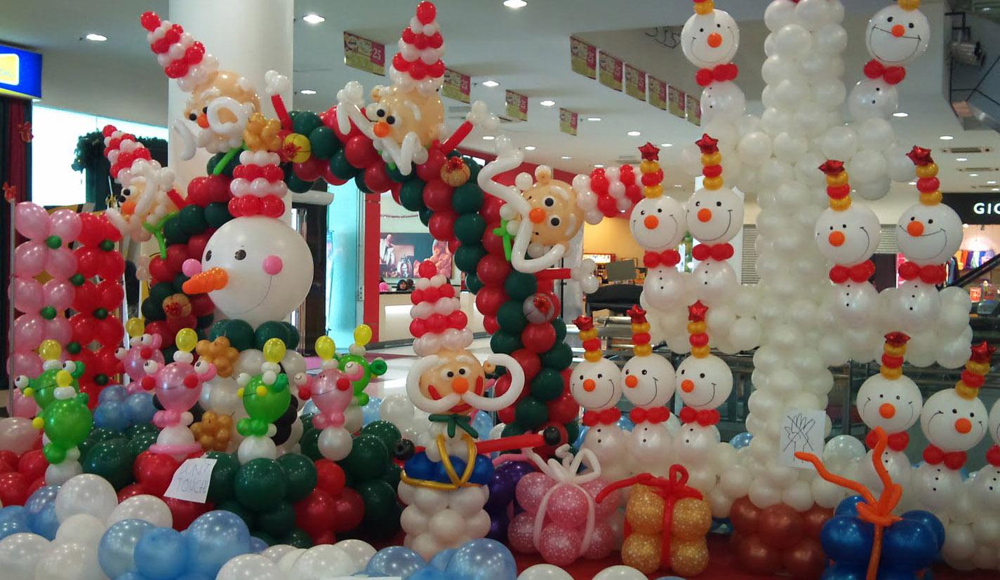 Christmas Balloon Decoration