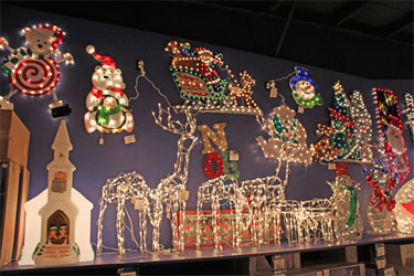 Amazing Christmas Lights Figures