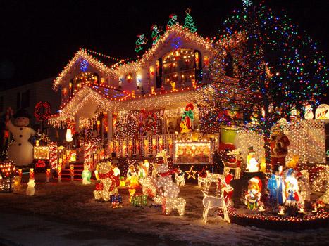Disneyland at Christmas Time