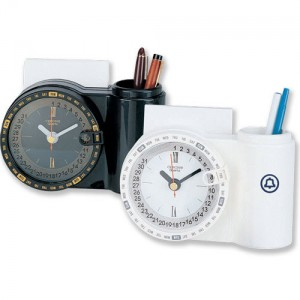 Time Catcher Desktop Organizer Clock