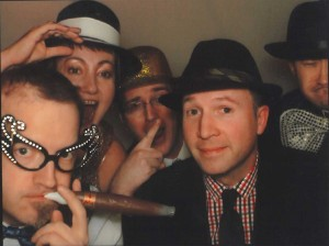 Corporate Party: Photo Booth