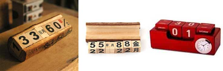 Corporate Wooden Branded Calendars