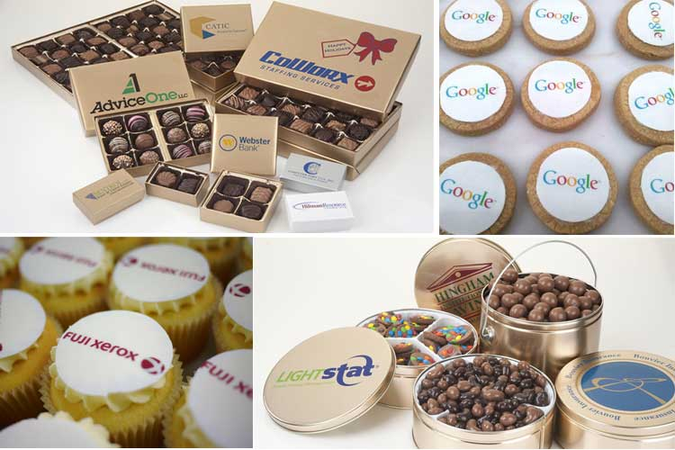 Corporate Gifts: Edible Logos