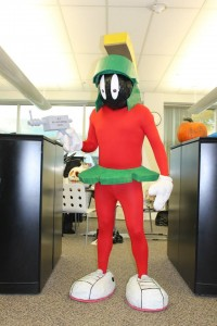 Halloween Home-made Costume: Marvin Martian