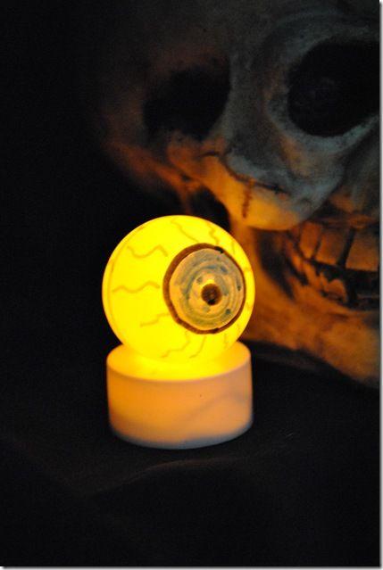 Halloween lights lighting eyeball fun advisor for Battery operated lights for craft booth