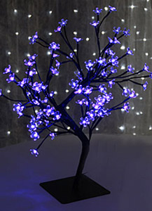 Lighted Warm White Bonsai Tree